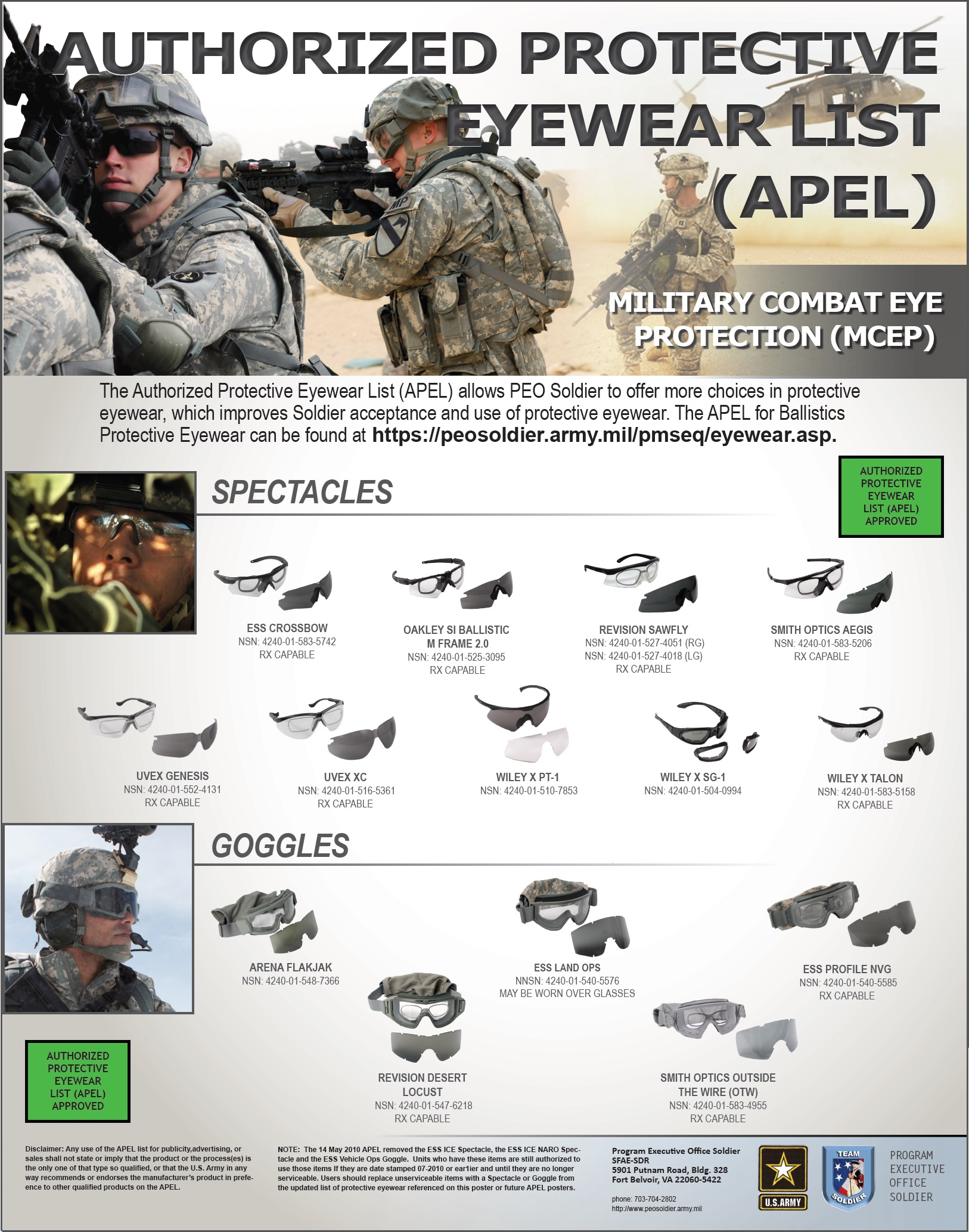 Authorized Sunglasses Army  us army approved oakley sunglasses