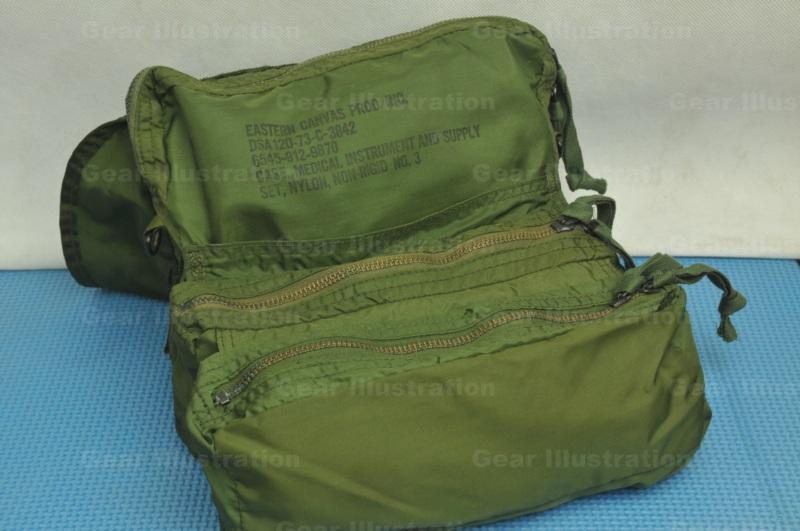 Nylon M3 Medic Bag Vietnam War Era Gear Illustration