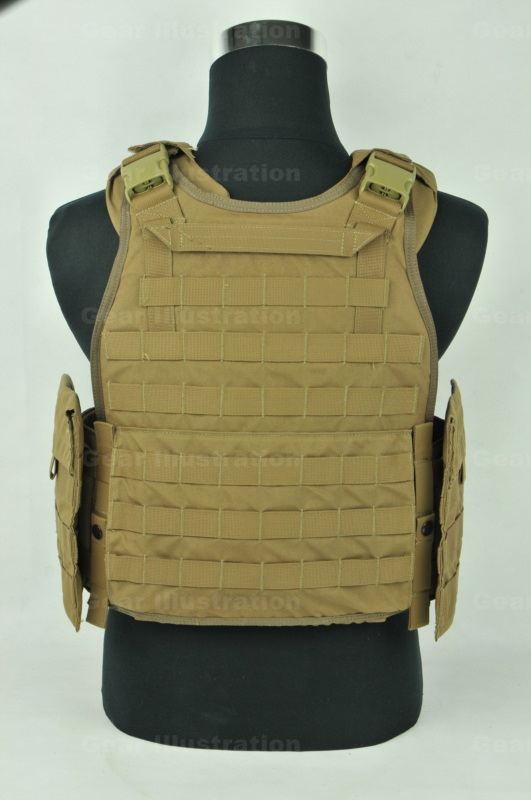 Marine Scalable Plate Carrier Spc Gear Illustration