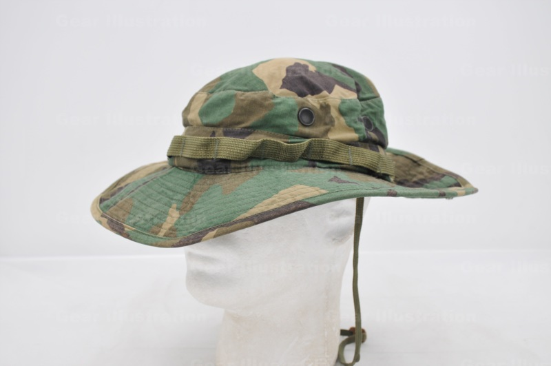 Transitional Type Woodland Camouflage Bonnie Hat (Type II) – Gear ... f79317a6616a