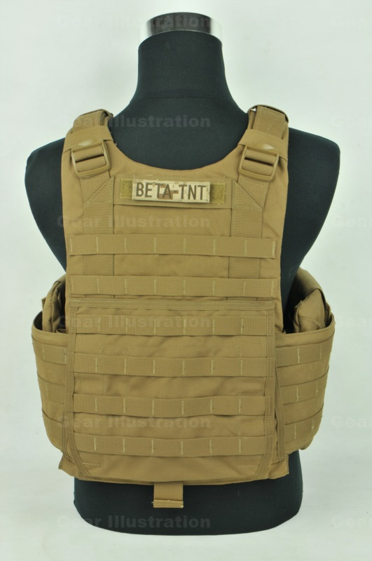 marine improved modular tactical vest    plate carrier