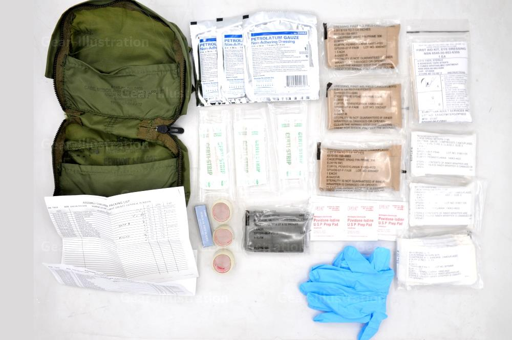Mounted General Purpose First Aid Kit Modern Gear