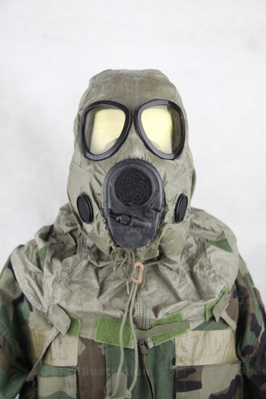 M17A1 Protective Gas Mask – Gear Illustration
